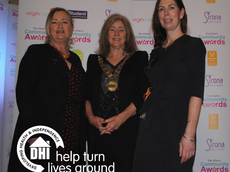 DHI volunteer nominated for top award